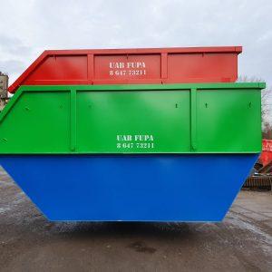 12 m3 konteineriai